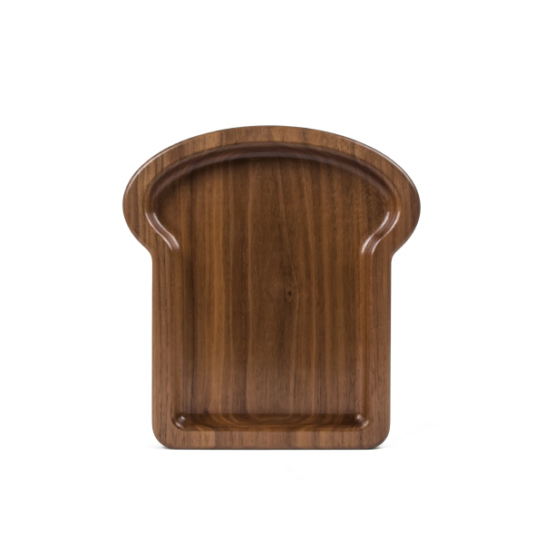 TOAST PLATE walnut
