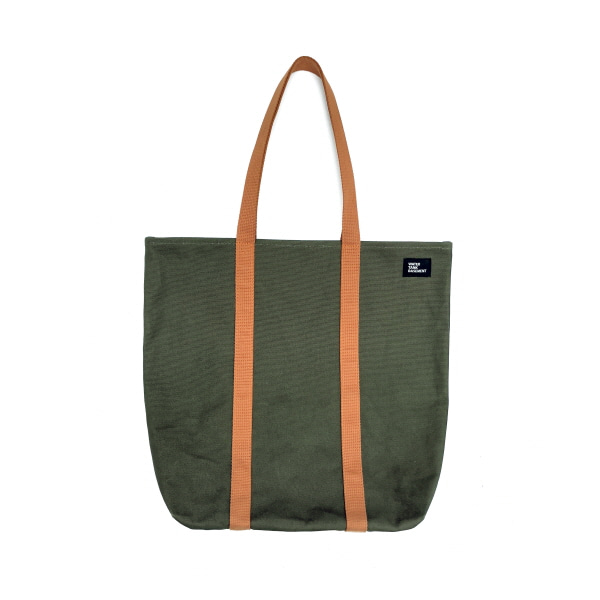 DAILY TOTE BAG - khaki rust