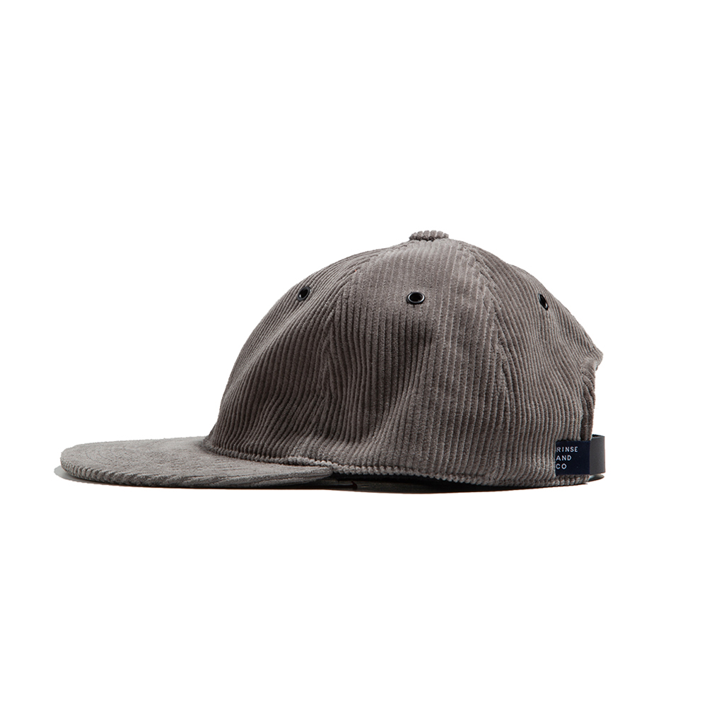 CORDUROY BALL CAP - grey