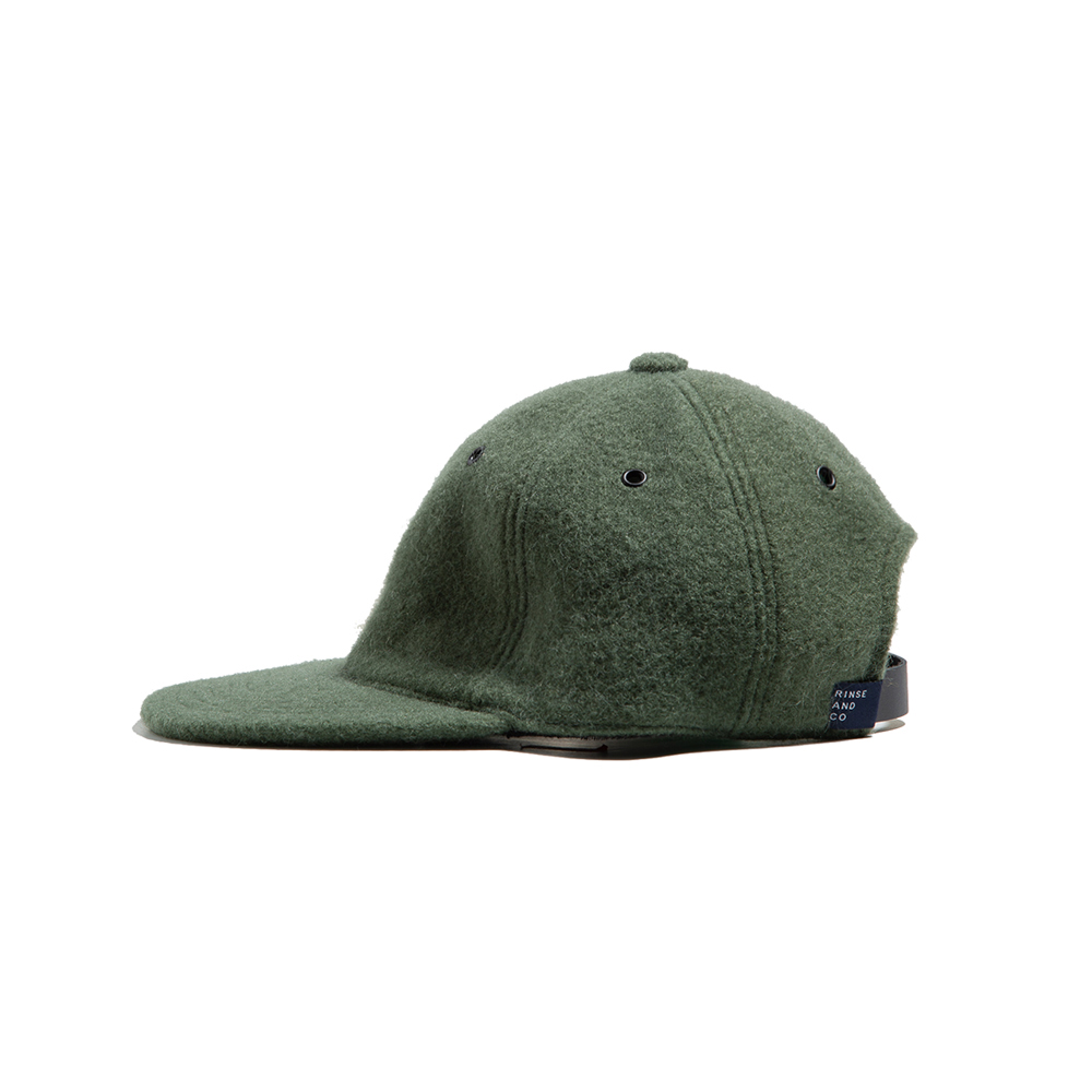 MOHAIR BALL CAP Green