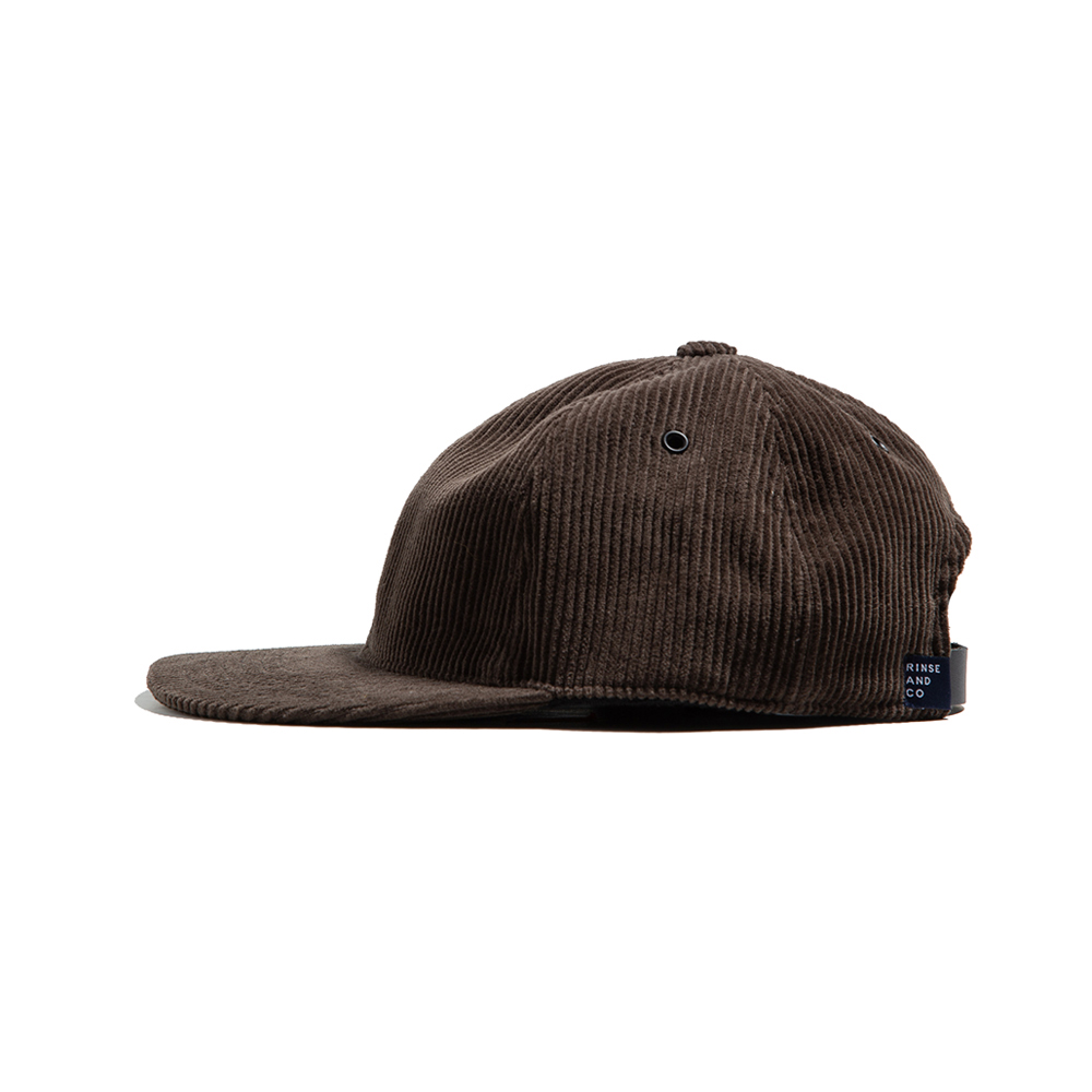CORDUROY BALL CAP Brown