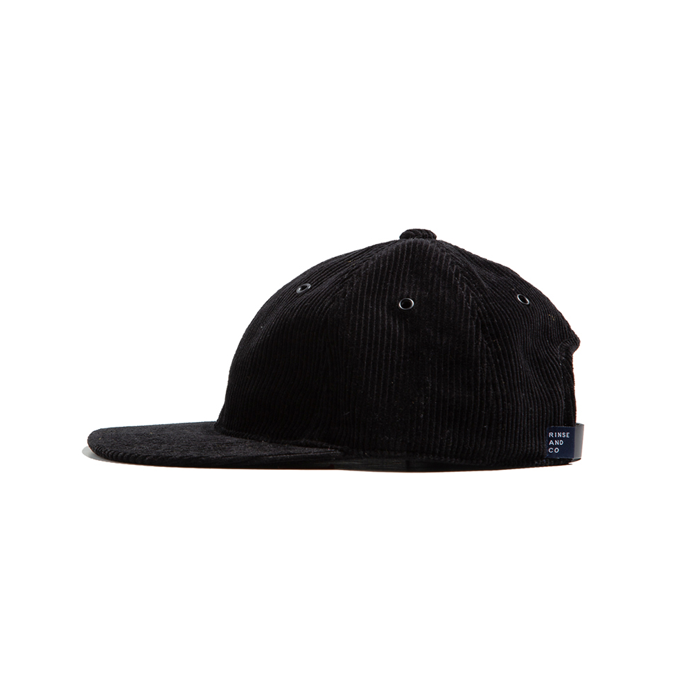 CORDUROY BALL CAP Black