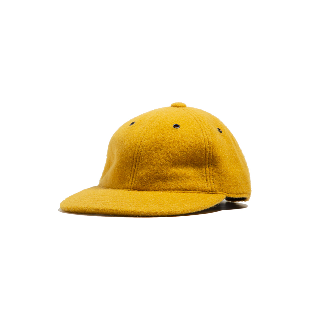 MOHAIR BALL CAP Yellow