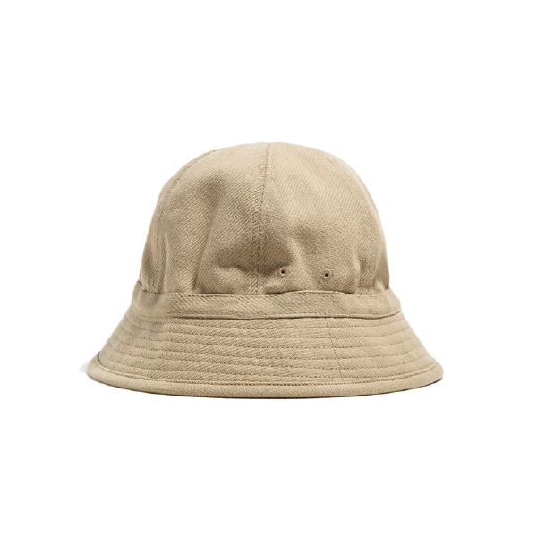 6PANEL FRENCH BUCKET HAT BEIGE