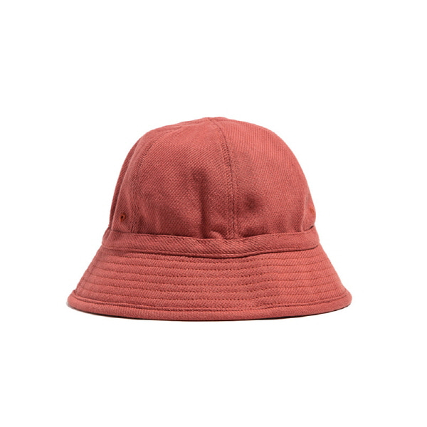 6PANEL FRENCH BUCKET HAT - coral