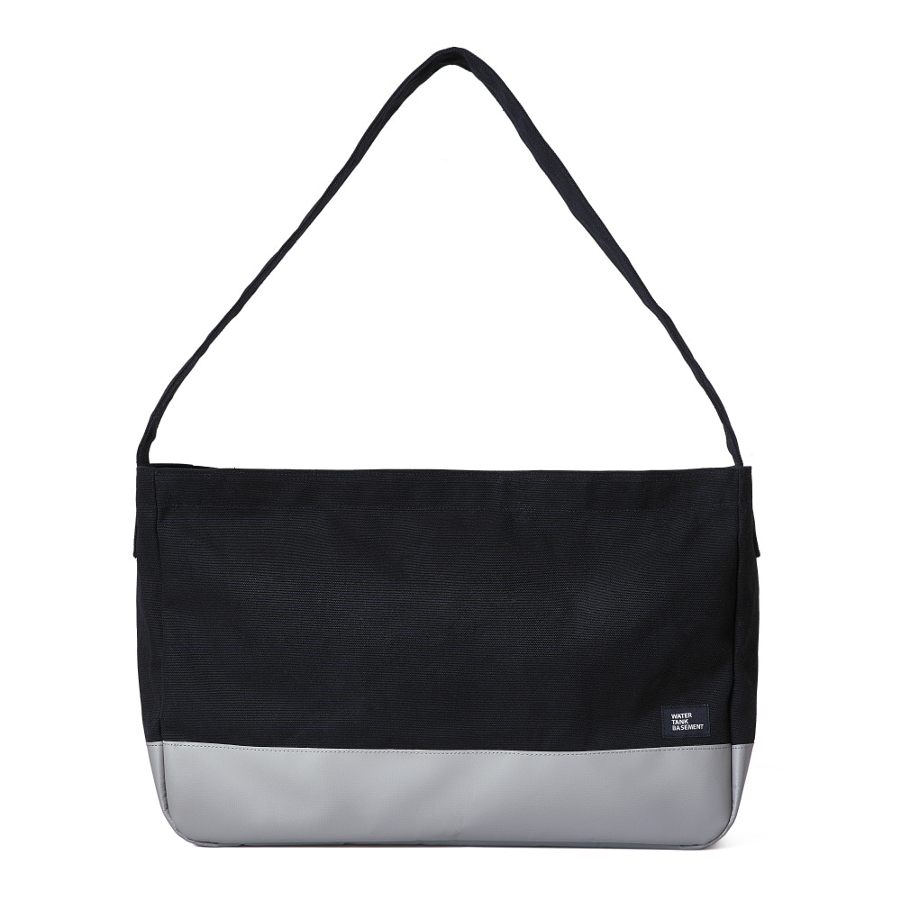 CROSS BAG(L) - black gray