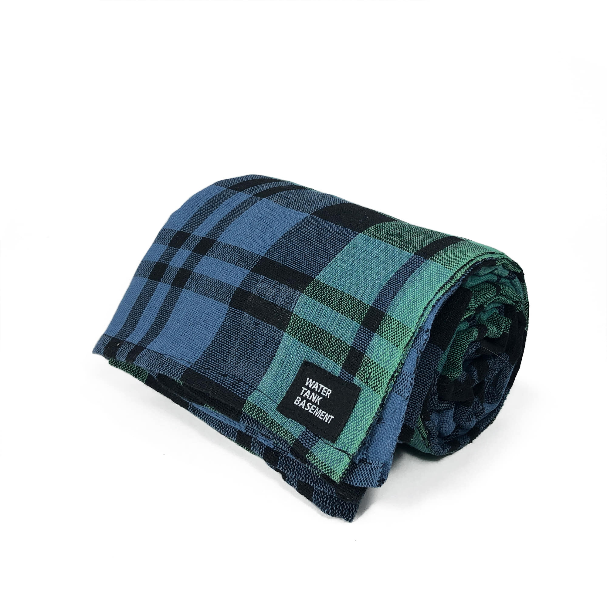 COTTON COVER - tartan green
